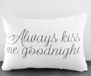 kiss, love, and goodnight image