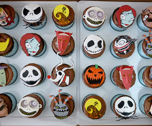 cupcake, jack, and tim burton image