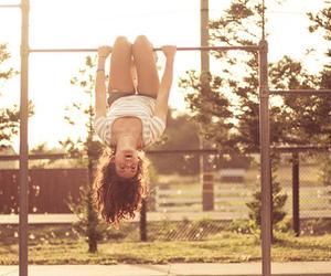 girl and fun image