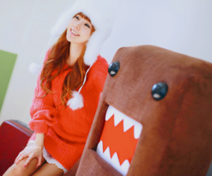 domo, girl, and cute image