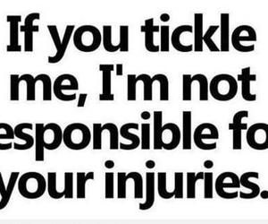 tickle, funny, and injury image