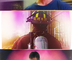 chicago fire, fireman, and guy image