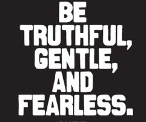 quote, fearless, and gandhi image