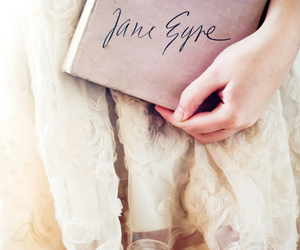book, jane eyre, and dress image