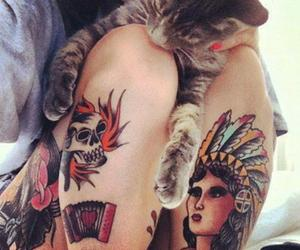 tattoo and cat image