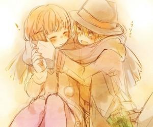 anime, anime couple, and nanami haruka image
