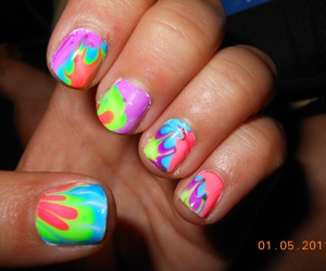 art, designs, and nailpolish image