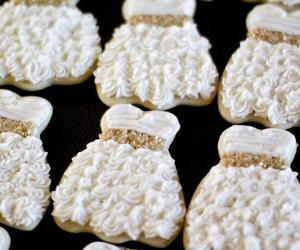dress, Cookies, and white image