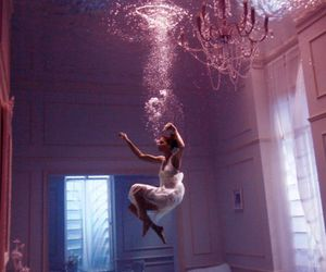 awesome, floating, and water image