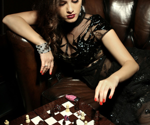 chess, game, and jewelry image