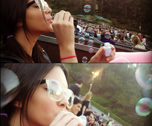 bubbles and kendall jenner image