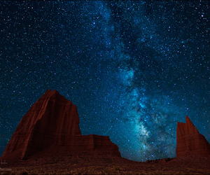 cosmos, stars, and milky way image