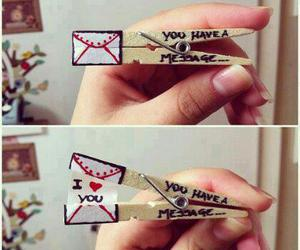 heart, envelope, and message image