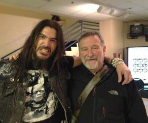 metal, robin williams, and machine head image