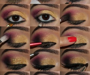 eyes, makeup, and party image