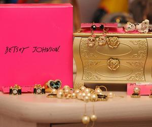 pink, girly, and betsey johnson image