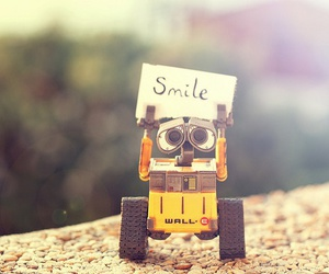 smile, wall-e, and disney image
