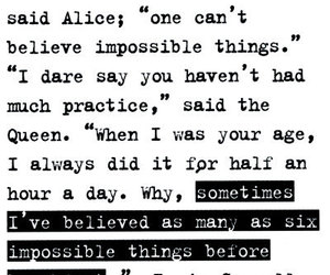 alice in wonderland, alice, and quote image