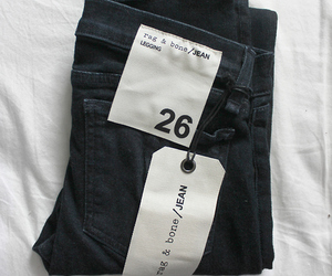aw, black, and jean image