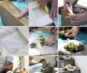 book, diy, and plant image