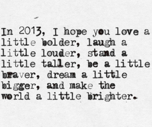 2013, love, and quote image