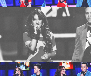 dulce maria, RBD, and prynce royce image