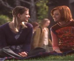 alyson hannigan, btvs, and willow and tara image