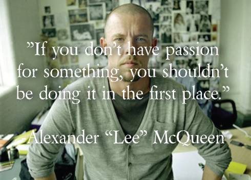 alexander mcqueen quote discovered by miranda