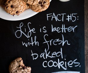 Cookies, life, and food image