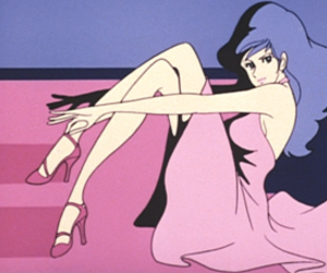 anime, pink, and fujiko image