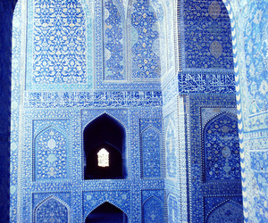 blue, mosque, and architecture image