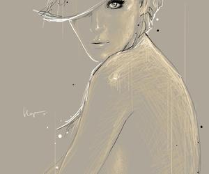 art, digital art, and floyd grey image