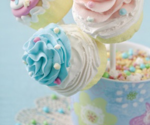 pastel and food image