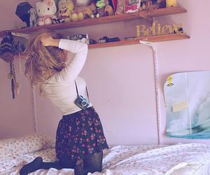 girl, believe, and bedroom image