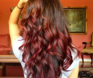 hair, red, and curls image