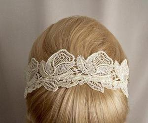 hair, lace, and pretty image
