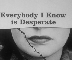 desperate, words, and quote image