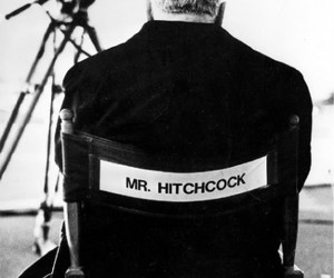 black and white, Hitchcock, and alfred hitchcock image