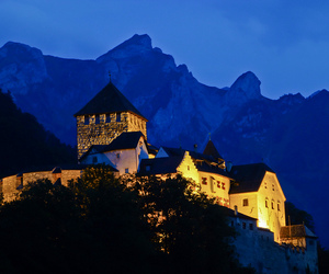 castle, night, and palace image