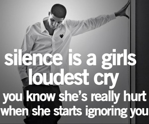 quotes, silence, and cry image