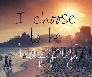 happy, quotes, and beach image