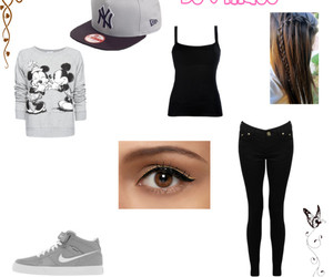 black, gray, and Polyvore image