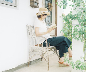 book, fashion, and garden image