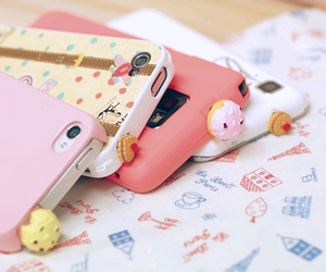 cute, iphone, and pink image