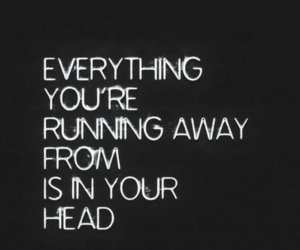 everything, life quote, and head image