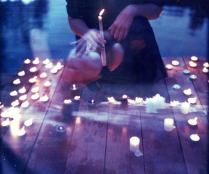 candles, Darkness, and faith image