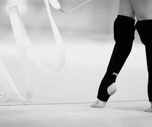 ribbon and rhythmic gymnastics image