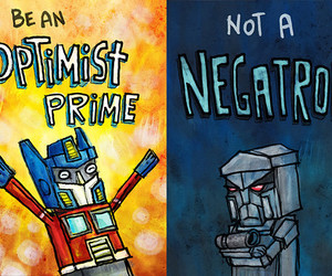transformers, funny, and optimist image