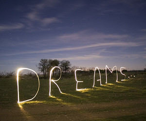 Dream, light, and sky image