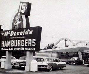 vintage and McDonalds image